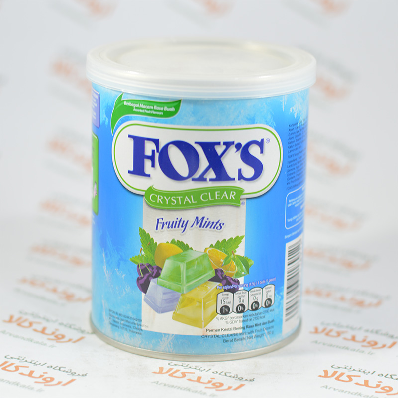 آبنبات فاکس FOXS مدل Passion Mints