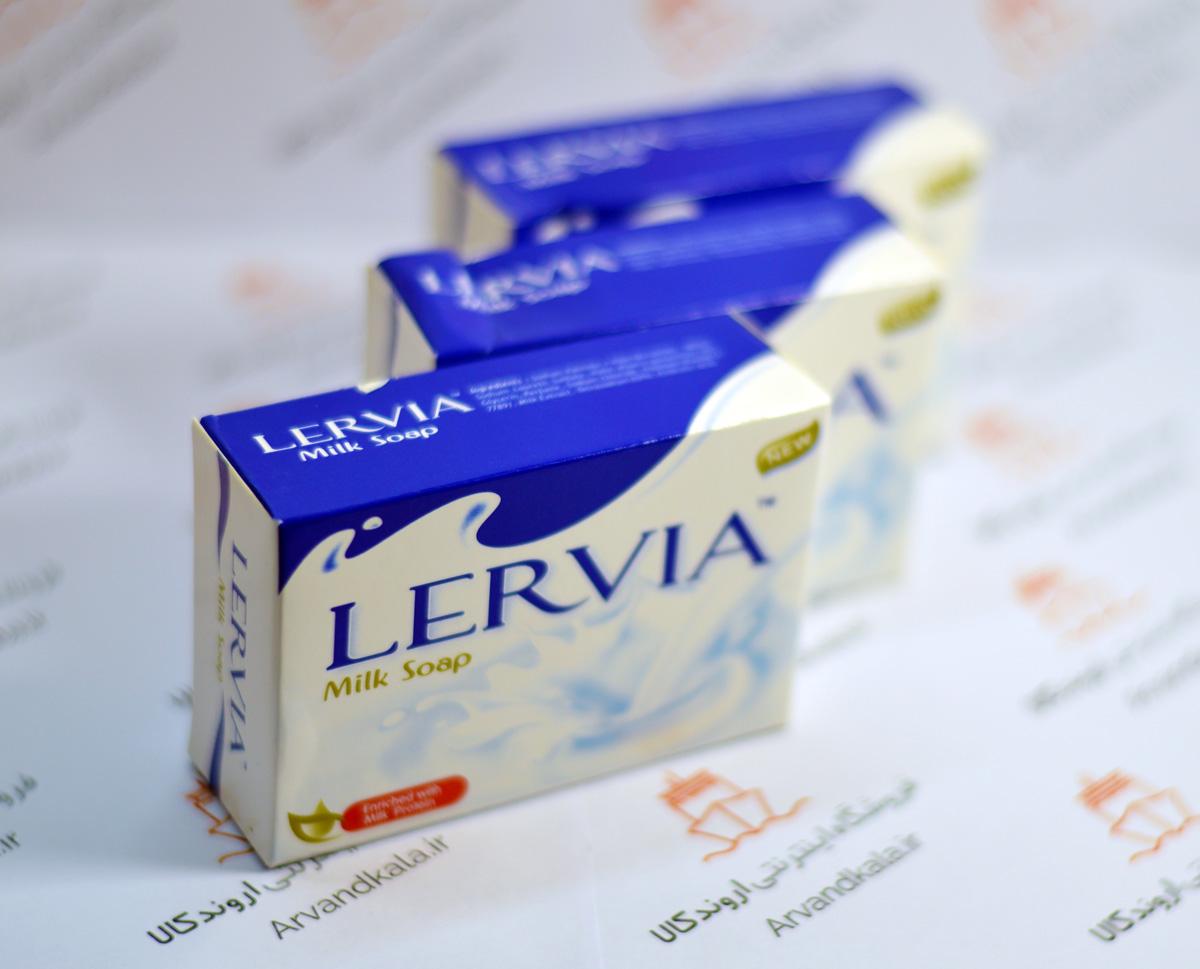 قیمت صابون شیر lervia