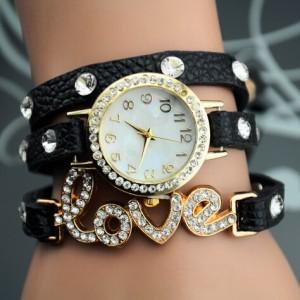 2014-Women-Rhinestone-Watches-Bracelet-Watch-Women-S-Leather-Strap-Relogio-Feminino-Wristwatches-Casual-Electronic-Relogios