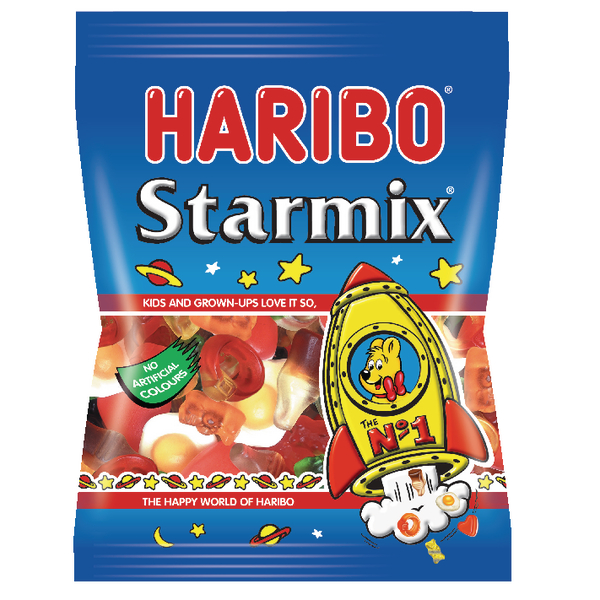 پاستیل Haribo مدل Starmix