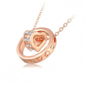 Double-Necklaces-Pendants-18K-Rose-Gold-Platinum-Plated-Austrian-Crystal-Circle-Heart-Necklace-Mix-Colors-Options.jpg_350x350