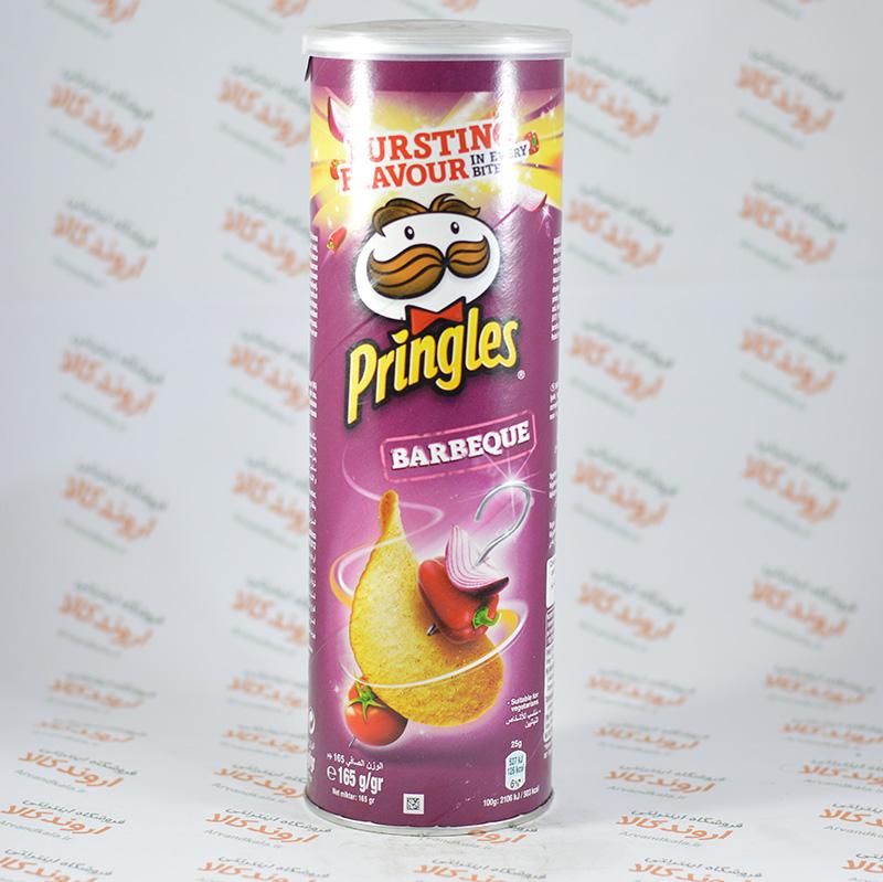 چیپس پرینگز طعم باربیکیوpringles