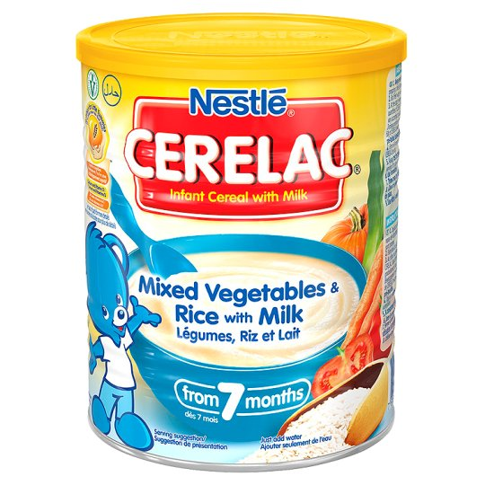 سرلاک نستله Nestle مدل Mixed Vegetables