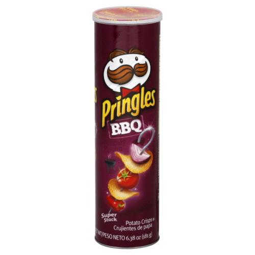 چیپس پرینگلز مدل باربیکیو BBQ