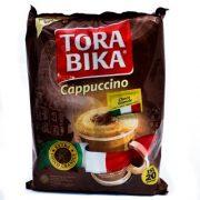 کاپوچینو فوری تورابیکا 20 عددی وزن:25 گرم(وزن هر عدد) محصولکشور :اندونزی تاریخ انقضا معتبر کاپوچینو فوری 20 عددی TORABIKA که همراه هر بسته کاپوچینو، یک بسته کوچک شکلات وجود دارد. بدون شک بهترین برند در کاپوچینو تورابیکا می باشد که دارای طعم و مزه ای عالی می باشد که هر کدام از آنها شامل یک بسته کوچک پودر شکلات می باشد که برای خوشمزه تر کردن کاپوچینو و زیباتر کردن ظاهر آن می باشد . کشور سازنده:اندونزی یک محصول فوق العاده در بسته 20 عددی