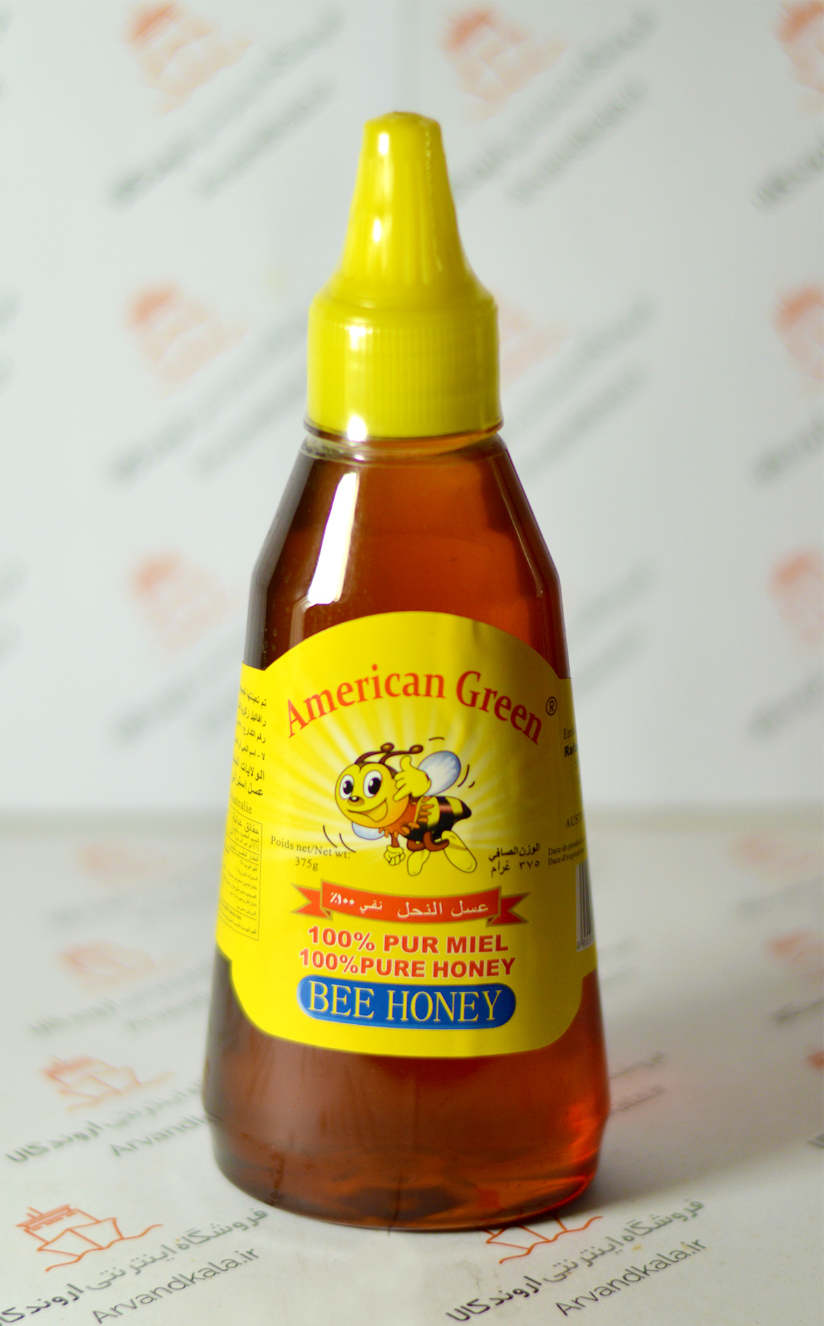 عسل طبیعی امریکن گرین