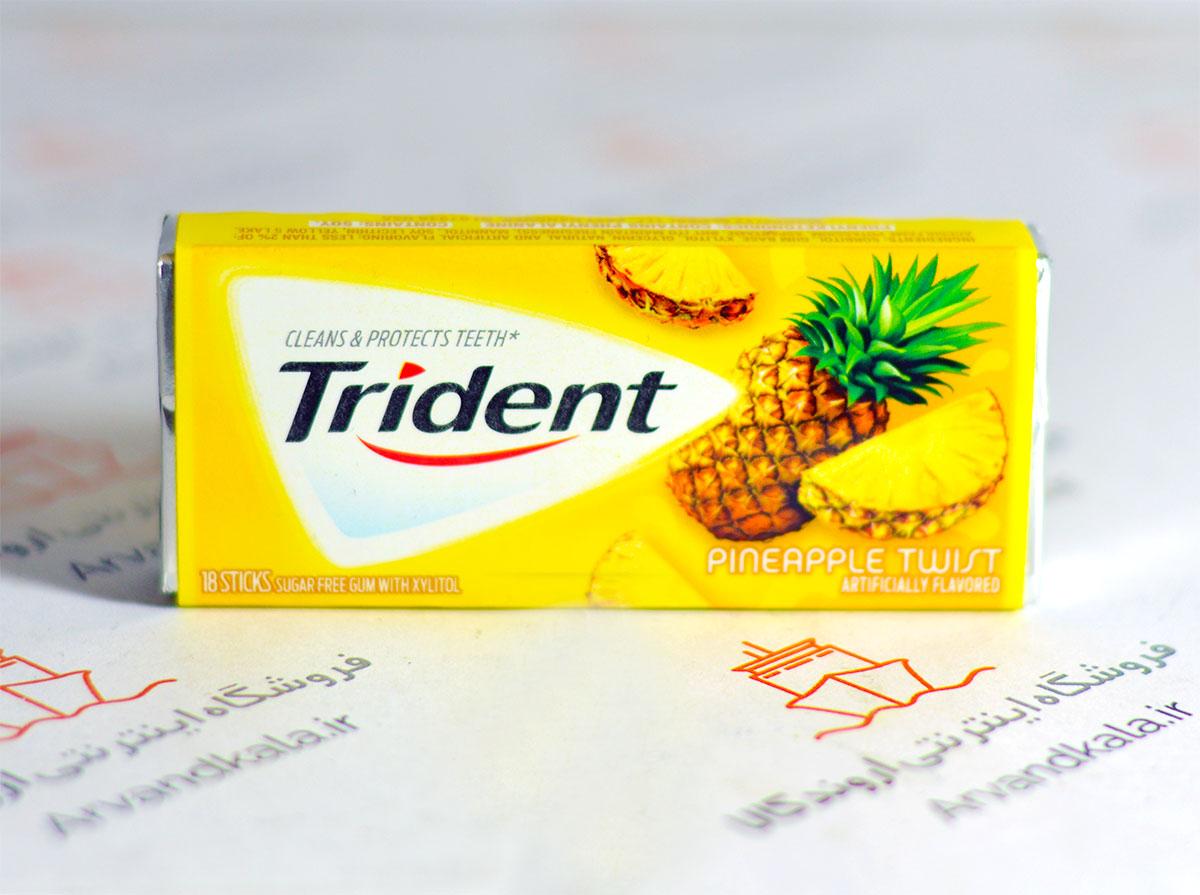 آدامس تریدنت Trident طعم آناناس