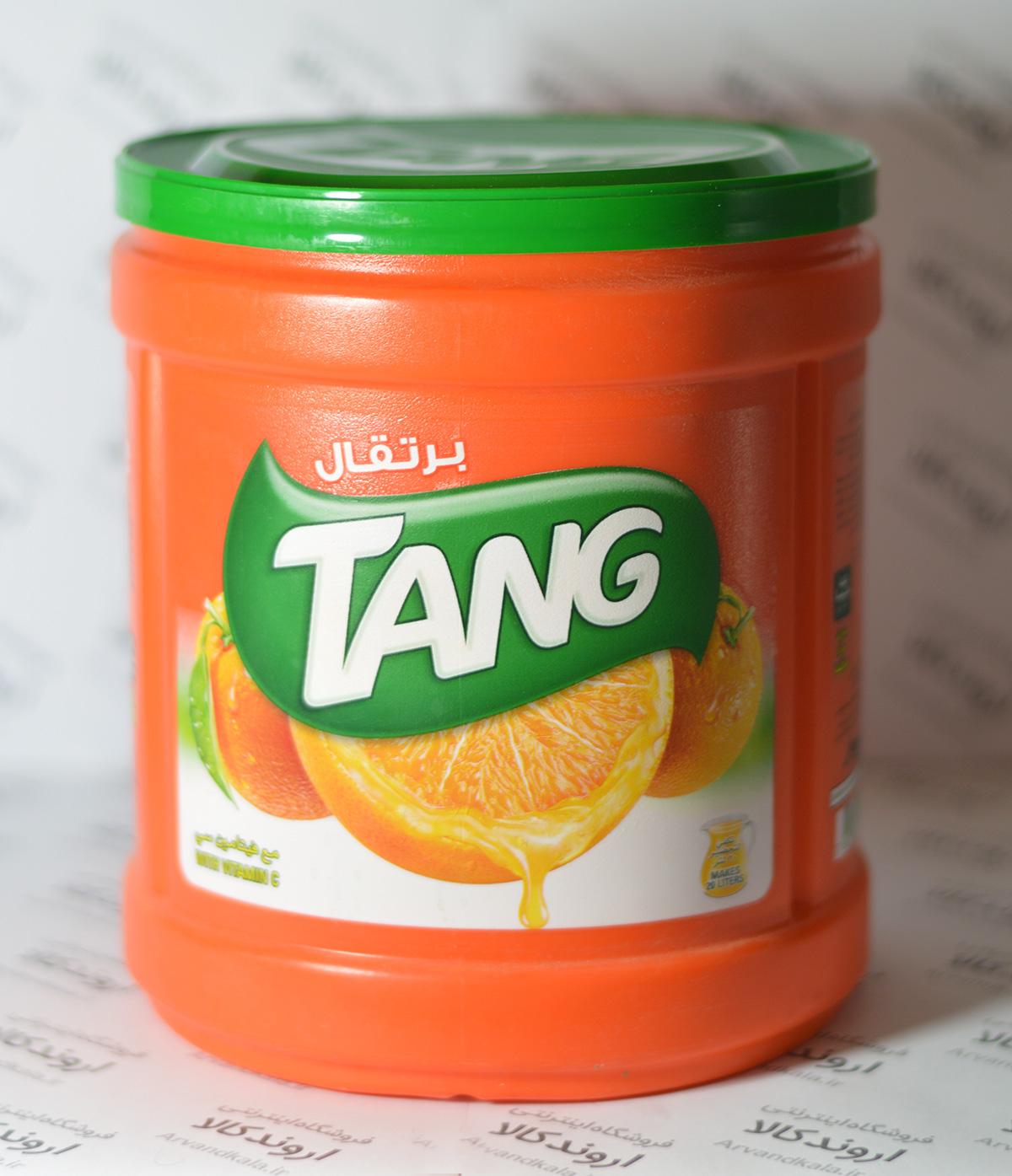 پودر شربت پرتقالی تانج TANG