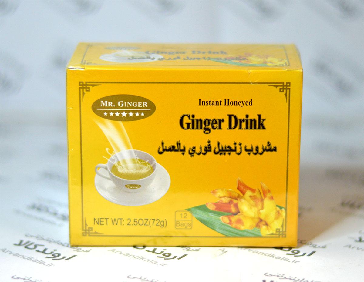 نوشیدنی زنجبیل و عسل