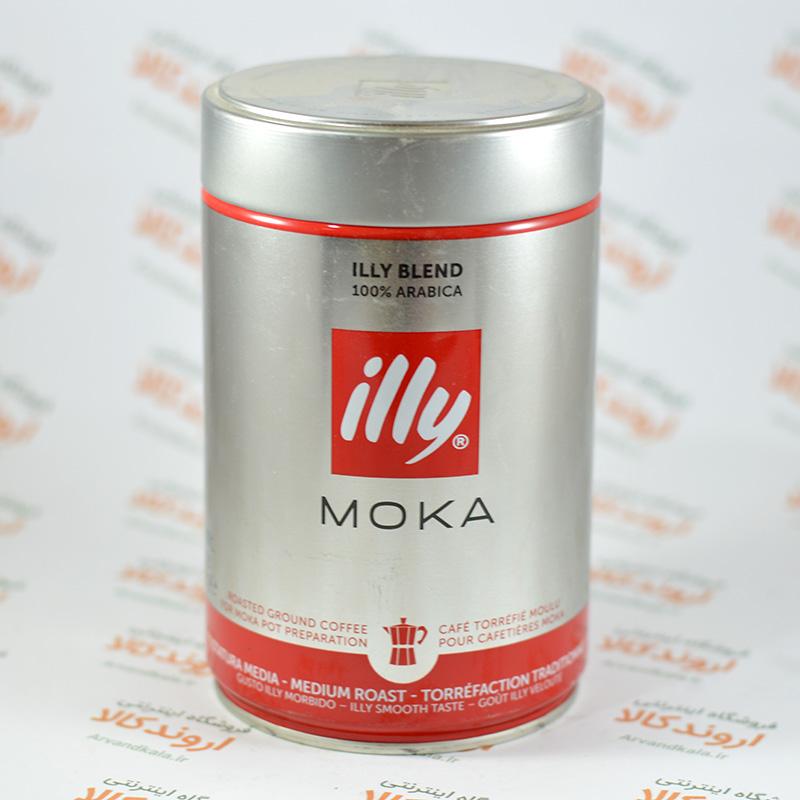 قهوه موکا ایلی illy Ground Moka Coffee