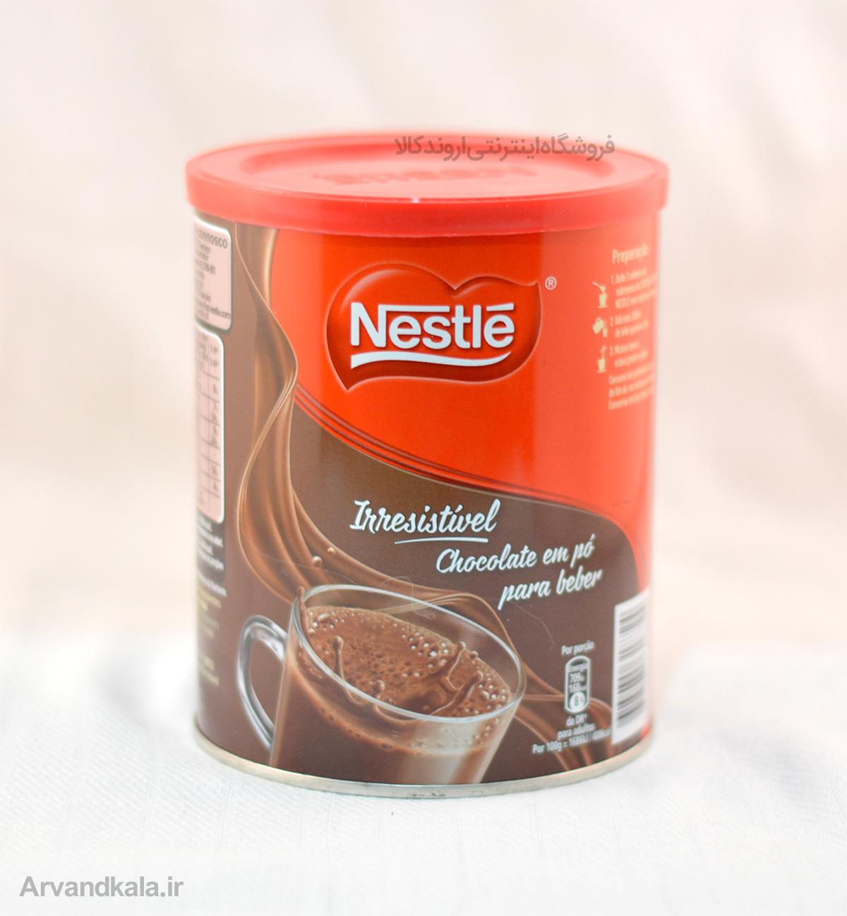 شکلات داغ نستله nestle