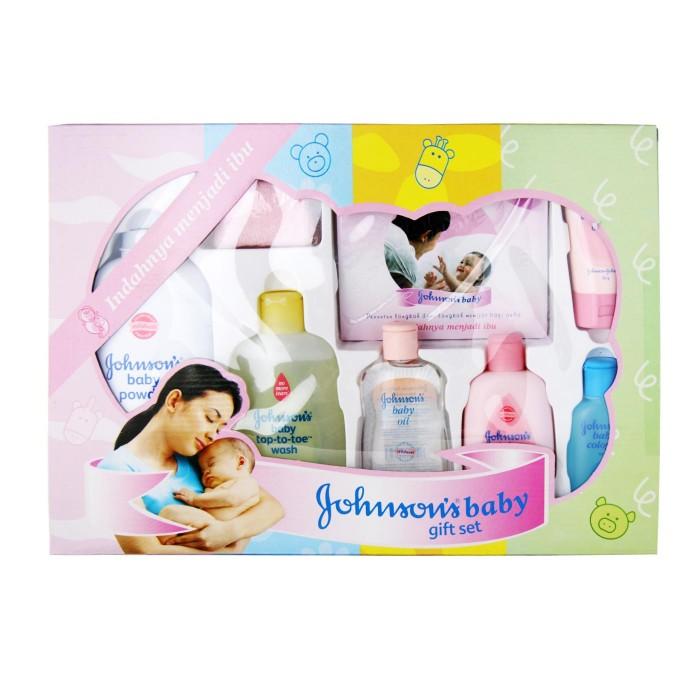 ست بهداشتی هدیه نوزاد جانسون JOHNSON'S