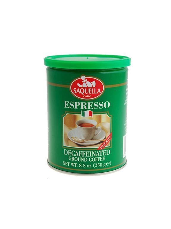 قهوه SAQUELLA مدل Espresso Dekaf