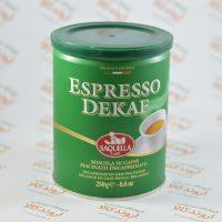 قهوه بدون کافئین SAQUELLA