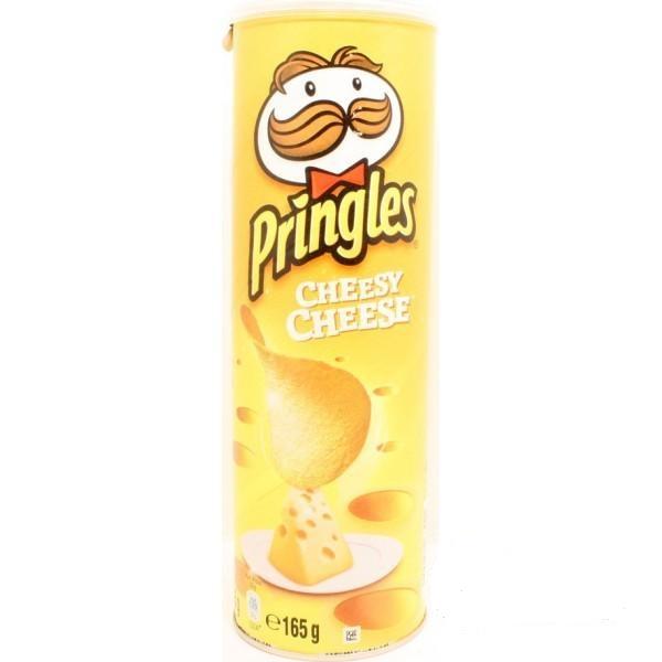 چیپس پرینگلز مدل Cheesy Cheese