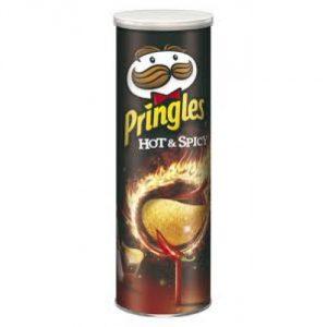 چیپس پرینگلز مدل Hot & Spicy