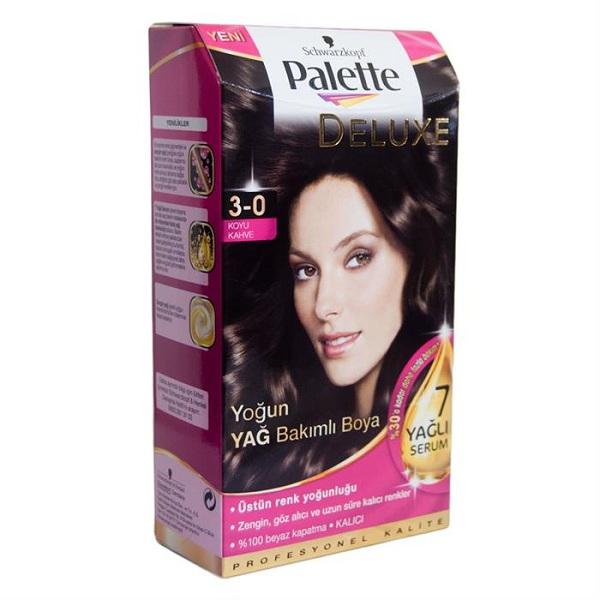 کیت رنگ مو پالت مدل Dark Warm Brown