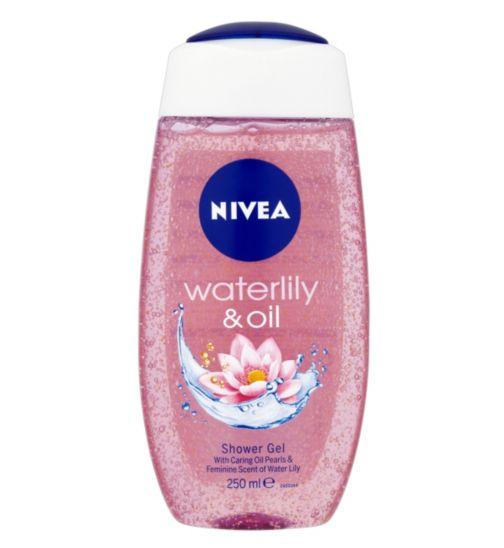 شامپو بدن نیوا مدل Waterlily And Oil