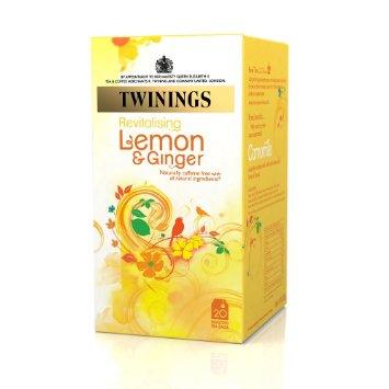 دمنوش twinings طعم لیمو و زنجبیل