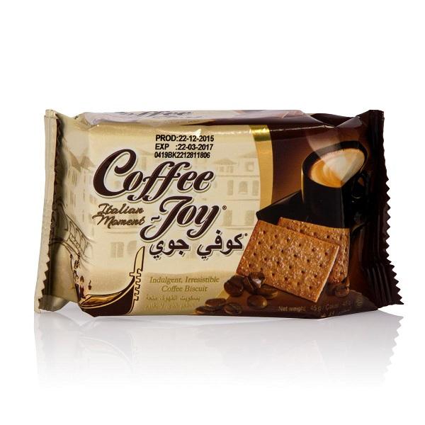 بیسکویت با طعم قهوه کافی جوی COFFEE Joy