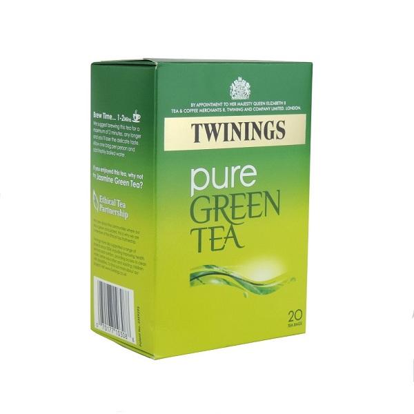 دمنوش twinings طعم چای سبز