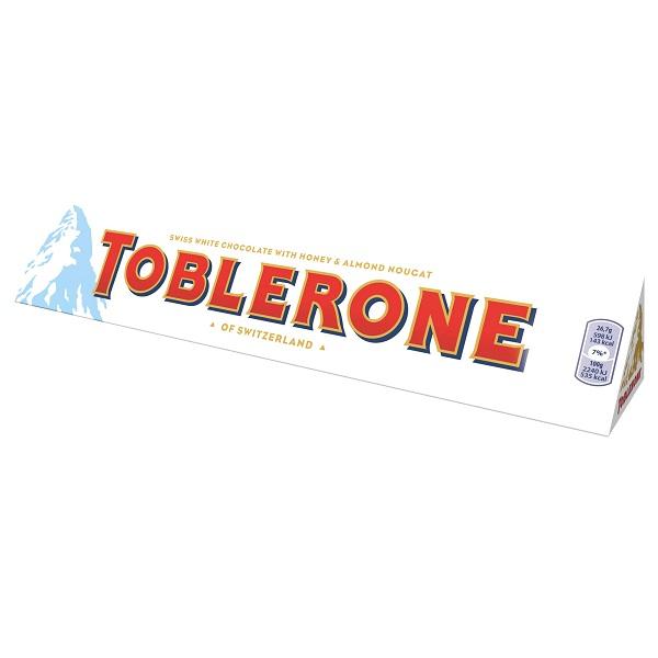 شکلات سفید toblerone