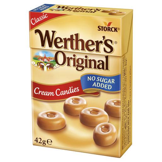 آبنبات بدون شکر Werther's original