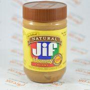 کره بادام زمینی jif مدل Honey Creamy