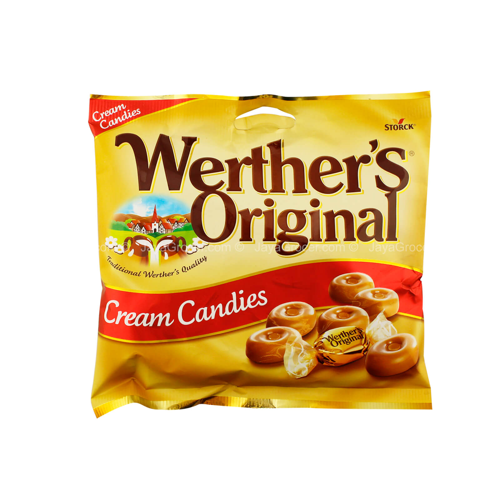 آبنبات کارامل werthers original