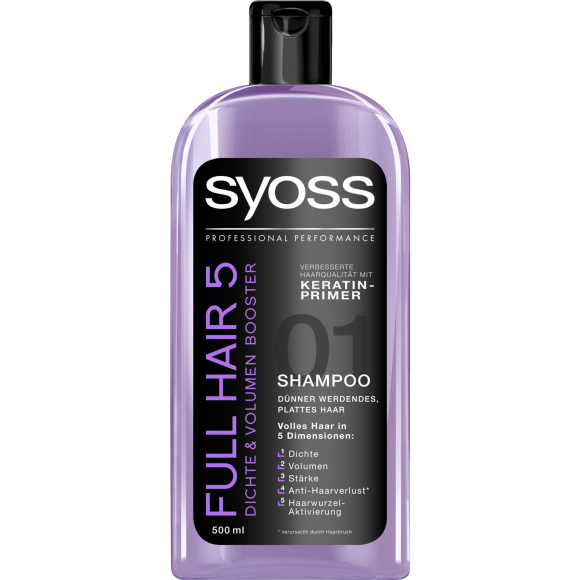 شامپو سایوس Syoss مدل Full Hair 5