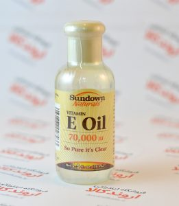 روغن ویتامین E برند Sundown Naturals