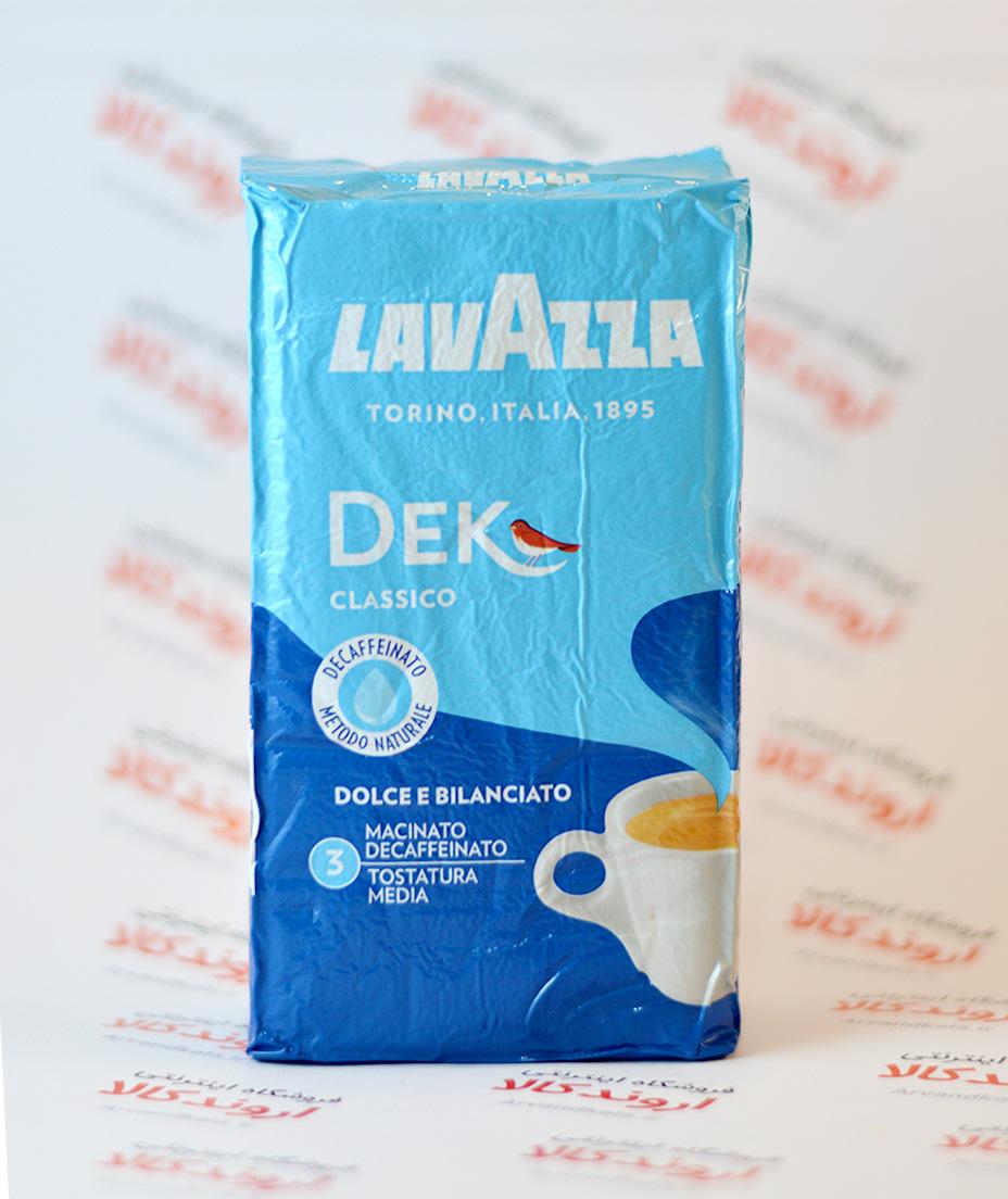 قهوه بدون کافئین لاواتزامدل Decaffeinated