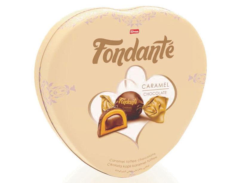 شکلات کادوئی مغزدار Fondante