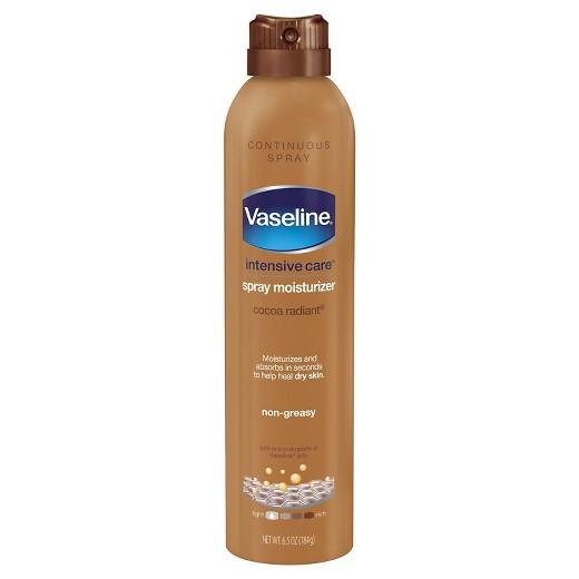 اسپری بدن Vaseline مدل Cocoa Radiant