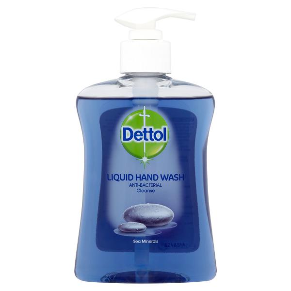 مایع دستشویی آنتی باکتریال با رایحه مواد معدنی دریایی دتول (Dettol)