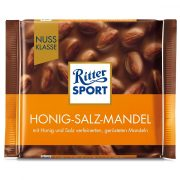 شکلات ریتر اسپرت RITTER SPORT مدل Honey Salt Almonds