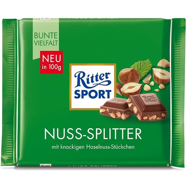شکلات RITTER SPORT مدل Nuss-Splitter