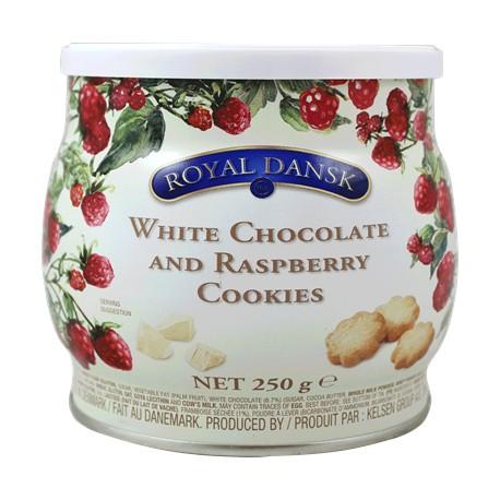 بیسکویت رویال دانسک مدل White Chocolate & Rasberry