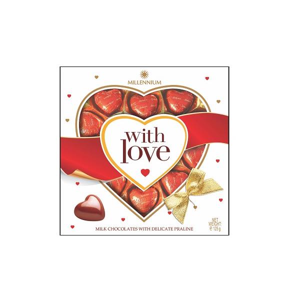شکلات شیری Lyubimov Hearts