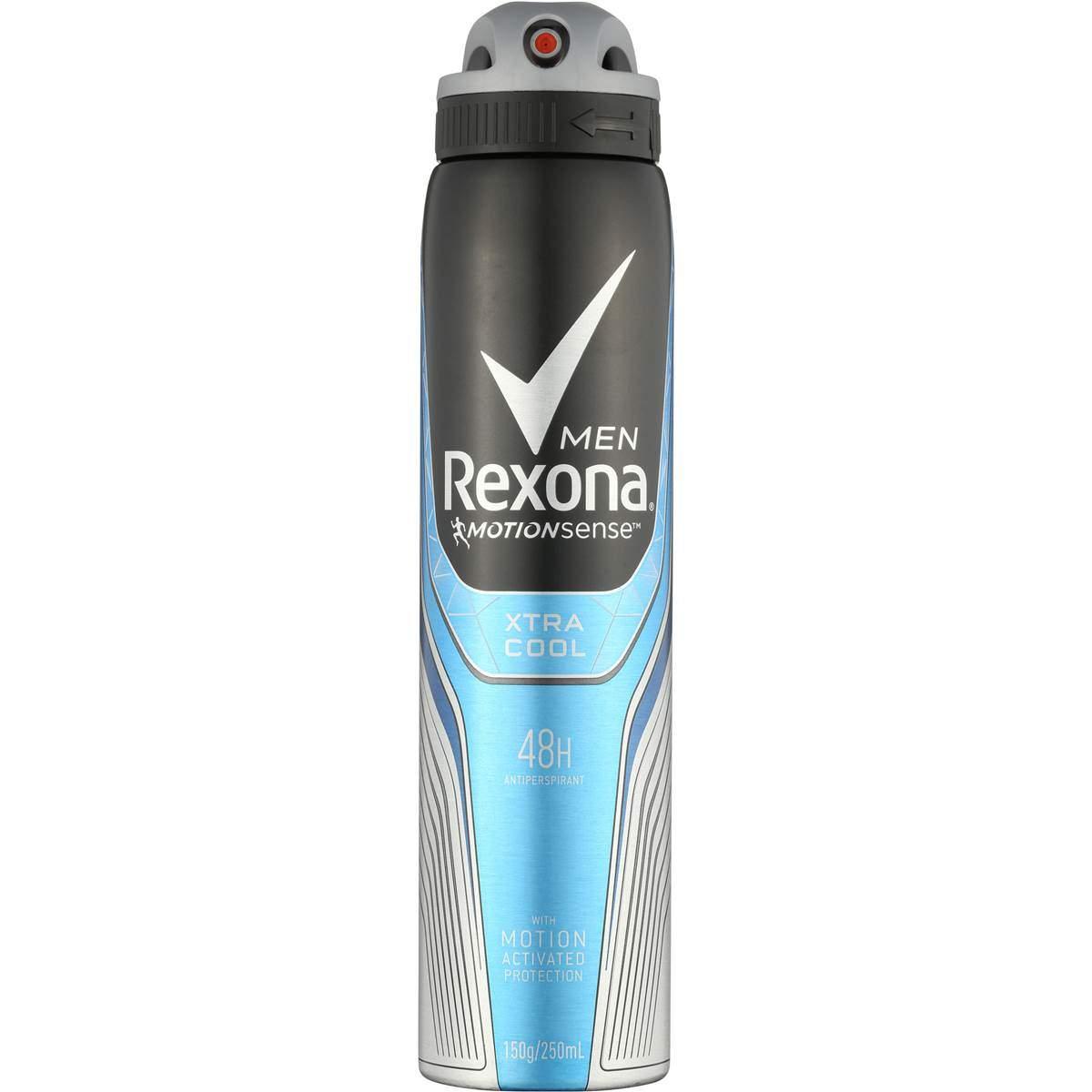 اسپری بدن مردانه Rexona مدل Xtra Cool