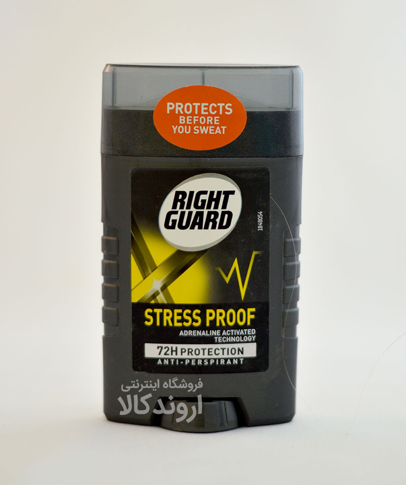 دئودورانت Right Guard مدل Stress Proof