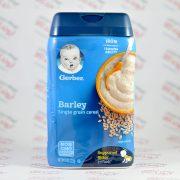 غذای کودک gerberغلات جو barley