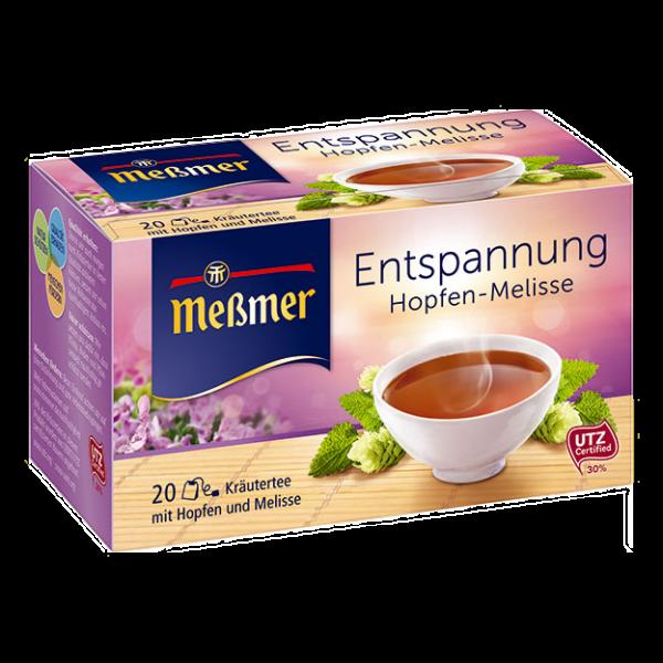 دمنوش گیاهی Messmer مدل Entspannung