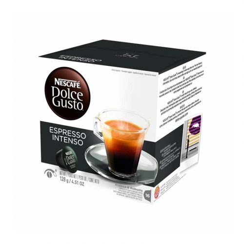 کپسول قهوه نسکافه dolce gusto مدل espresso intenso