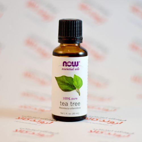 روغن درخت چای ارگانیک now foods