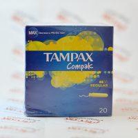 تامپون TAMPAX Compak مدل REGULAR
