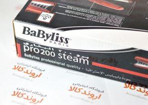 اتو مو بابلیس babyliss paris مدل pro200 steam