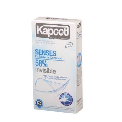 کاندوم نامرئی Kapoot مدل 58% invisible