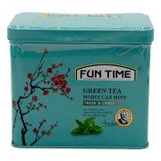 چای سبز نعنای مراکشی FUN TIME مدل FRESH & LIVELY