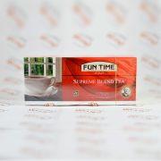 چای کیسه ای فان تایم FUN TIME مدل SUPREME BLEND TEA